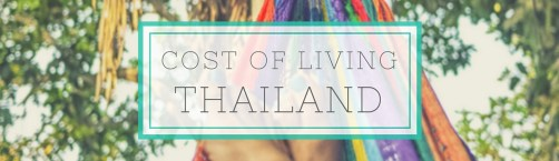 thailand cost of living