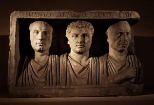 Roman funeral art