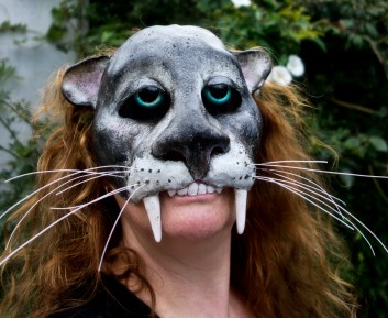 Jaguar half mask