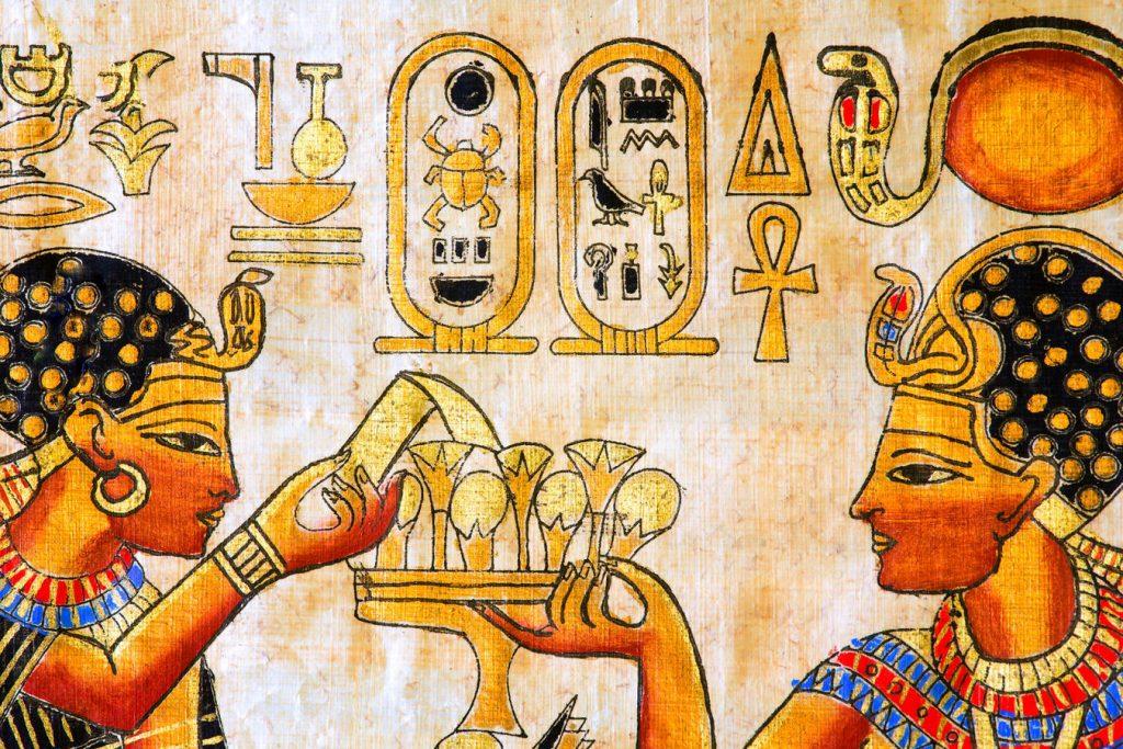 ancient egyptian edible gold