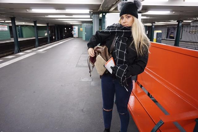 Berlin Underground - Berlin Trip - Bekah Molony