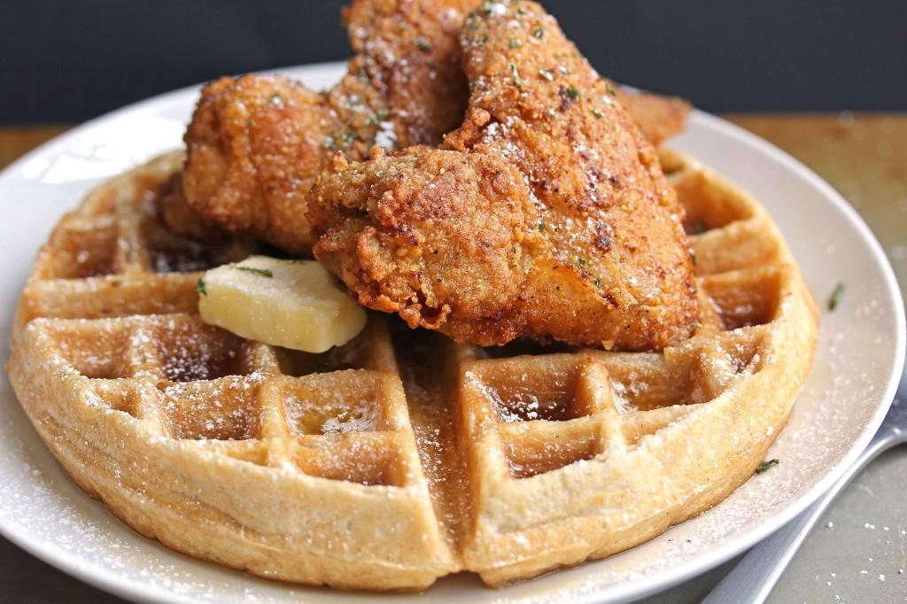 Fried Chicken & Waffles - Travelbucketlist