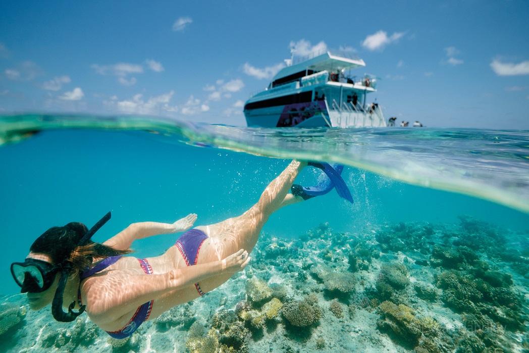 Queensland Snorkelling in the Great Barrier Reef - Travel Bucketlist