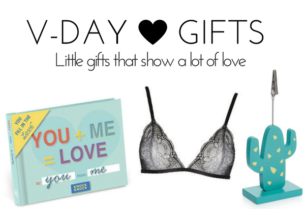 Little Valentine's Day Gift Ideas 2017