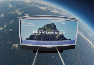 Ireland Launches first billboard into space - Bekah Molony - alittlebitofb.com - Star Wars