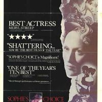 The Most Demanding Role of Meryl Streep as Inexhausting Exotic Creature in 'Sophie's Choice (1982)'