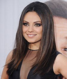 "HOLLYWOOD, CA - JUNE 21: Actress Mila Kunis arrives at the Los Angeles Premiere ""Ted"" at Grauman's Chinese Theatre on June 21, 2012 in Hollywood, California. (Photo by Jon Kopaloff/FilmMagic)"