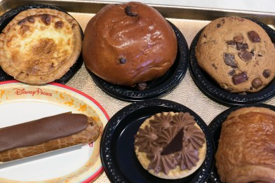 Pastries from Boulangerie Patisserie in the France Pavilion in Epcot