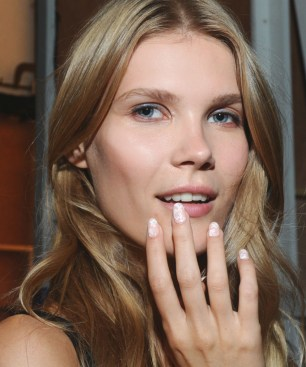 KISS Nails at Erin Fetherston Spring Summer 2016 runway show during New York Fashion Week, Thursday, Sept. 10, 2015. (Photo by Diane Bondareff for KISS Nails)