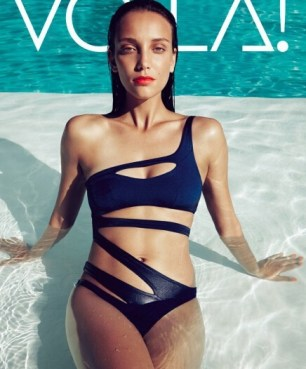 Agent-2016-One-Piece-Thong-Swimsuit-Women-Monokini-Long-Sleeve-Swimwear-Bandage-Bathing-Suit-One-Shoulder