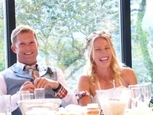 Very happy couple