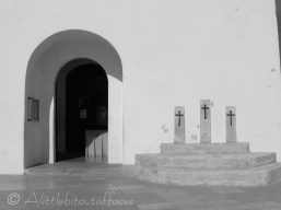 Sant Francesc church doorway