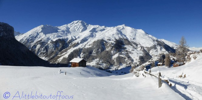 Panoramic view near La Forclaz
