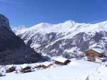 La Forclaz view