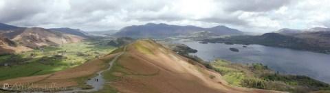 8 Ridge path up Catbells