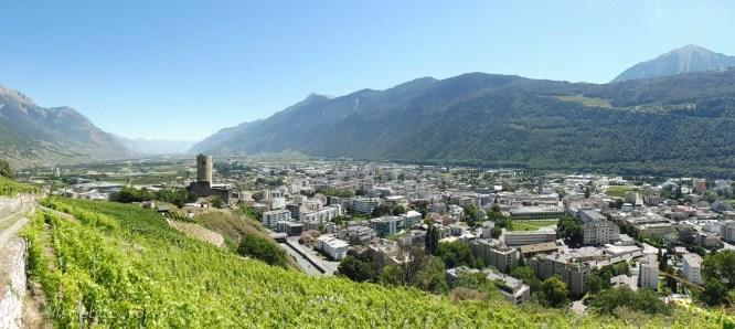 3 Rhone valley panorama