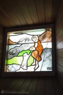 4 St Jean church stained glass window
