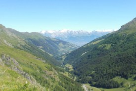 6 View down the valley