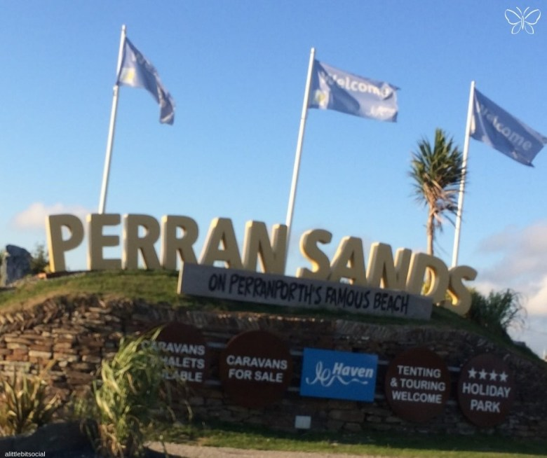 Perran Sands Holiday Park Entrance