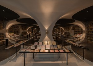 5 amazing book oases in China - Zhongshuge bookstore in Yangzhou - cave