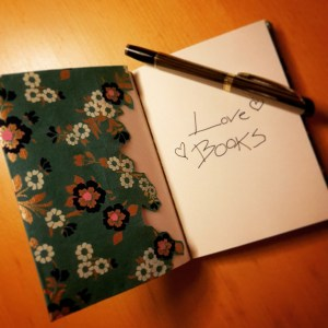 DIY Friday – Unique notebooks for bookworms and stationery-lovers. Creating a Completely wrapped notebook 4