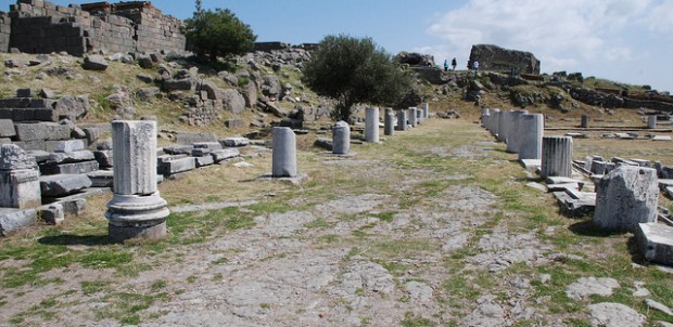 Ancient libraries - 5 legendary libraries for all the library lovers out there- Library of Pergamum