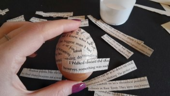 DIY Friday – Bookish Easter eggs 11