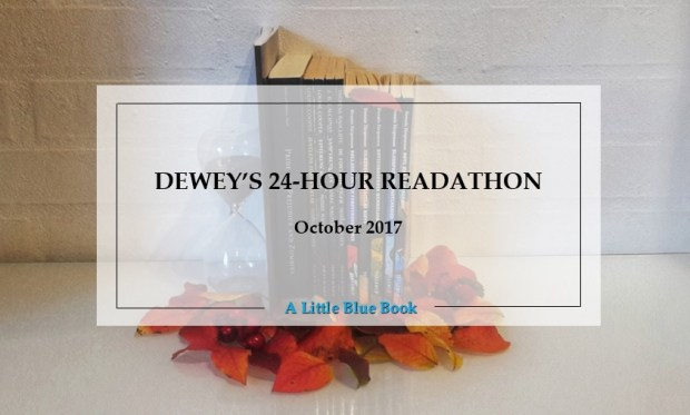 Deweys 24-hour readathon - October 2017