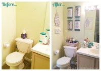 Beach Themed Bathroom | A Small Space Makeover + Giveaway ...