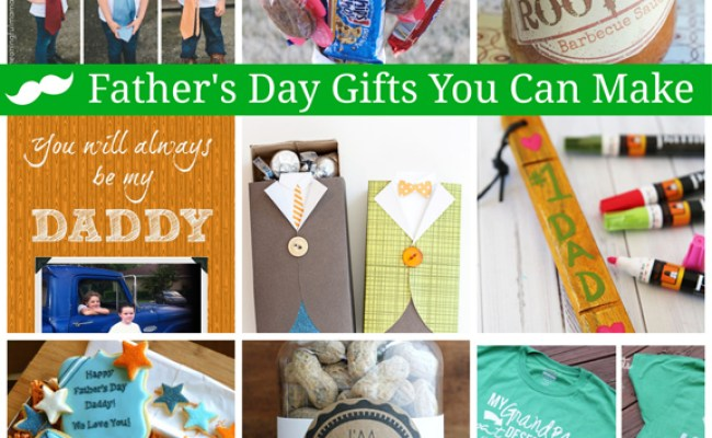 Last Minute Father S Day Gift Ideas You Can Make A