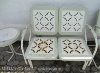 Metal Patio Furniture Makeover   A Restoration Hardware ...