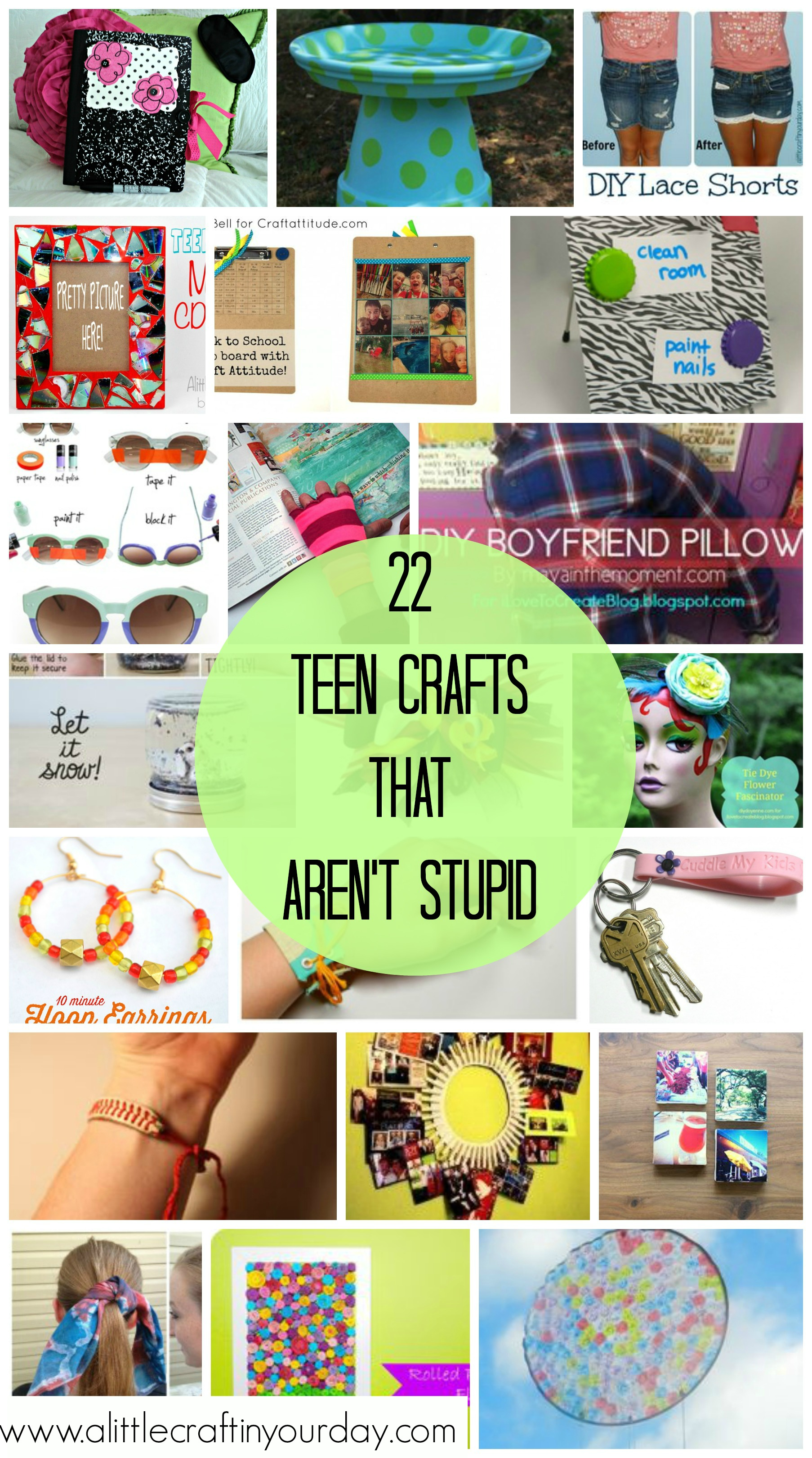 Teen Crafts That ARENT Stupid A Little Craft In Your Day