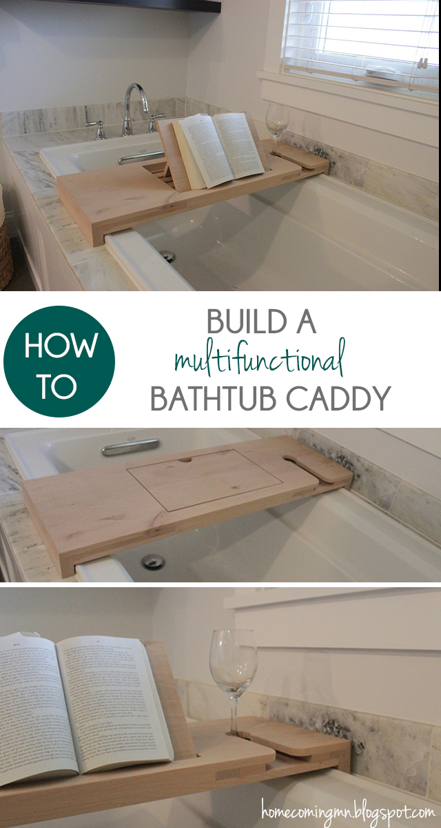 How To Build A Bathtub Caddy A Little Craft In Your Day