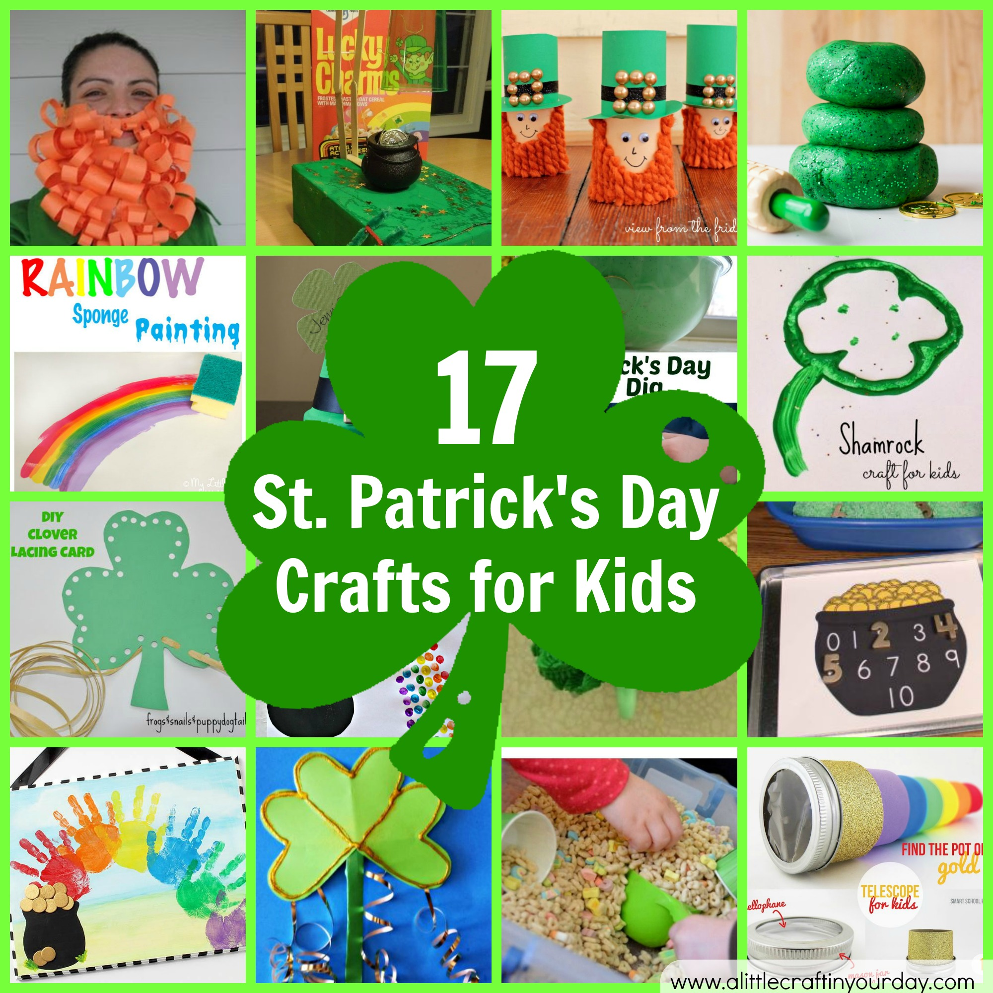 17 St Patrick S Day Crafts For Kids