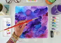 Watercolor Wall Art - A Little Craft In Your Day