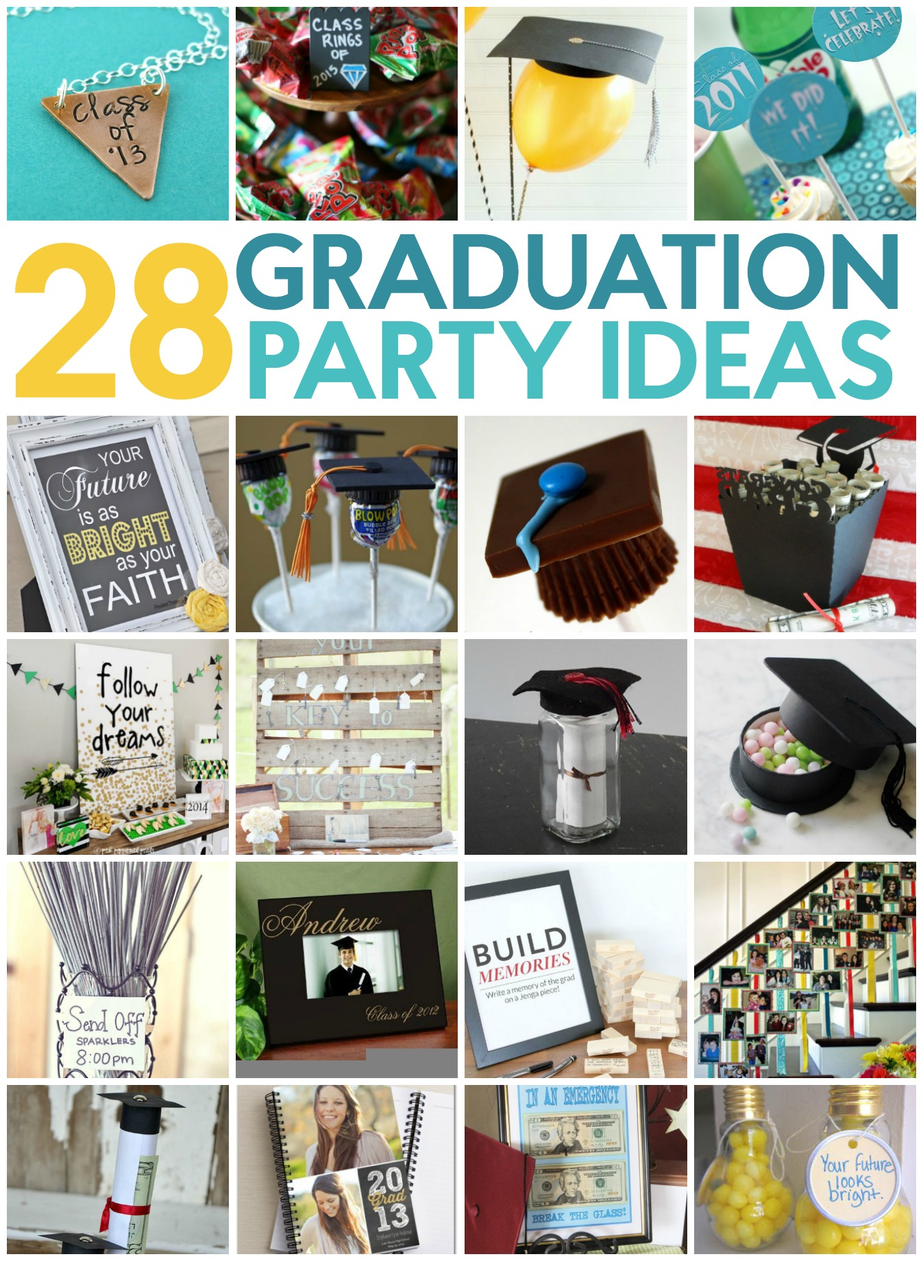 28 Fun Graduation Party Ideas  A Little Craft In Your Day