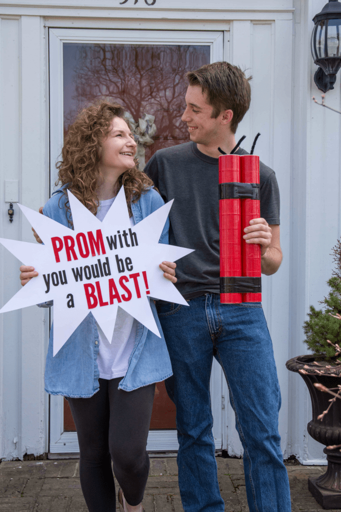 Dynamite Promposal Idea A Little Craft In Your Day