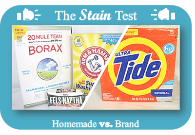 How Does Homemade Laundry Detergent Compare to the Leading Brand?