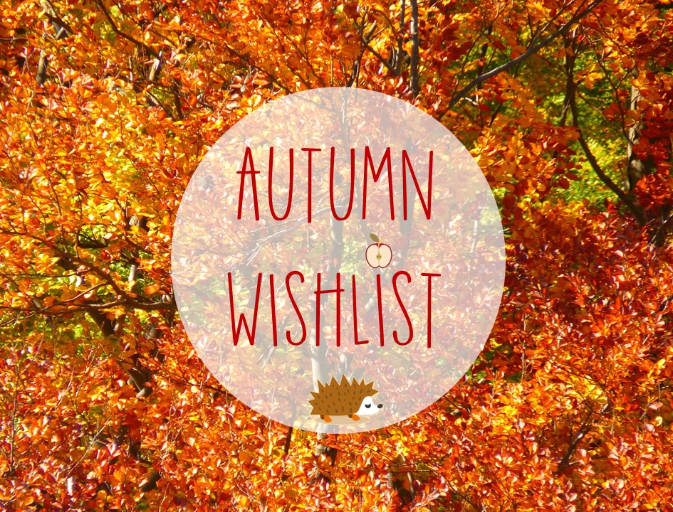 Wishlist automne