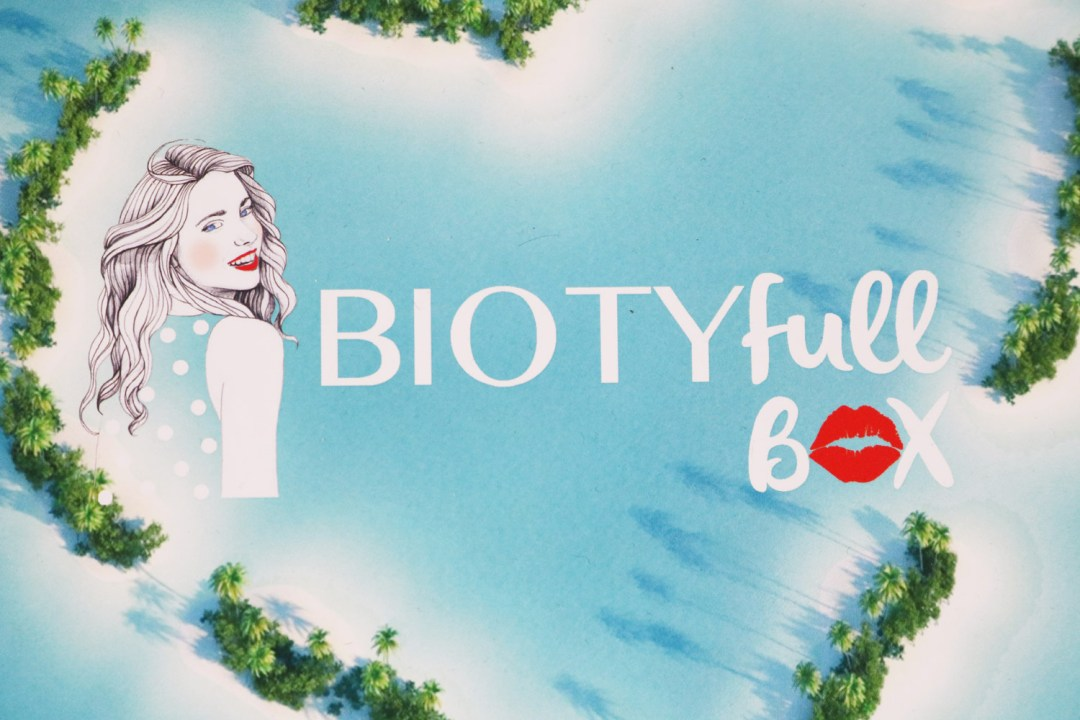 Biotyfull Box de Juillet, la paradisiaque