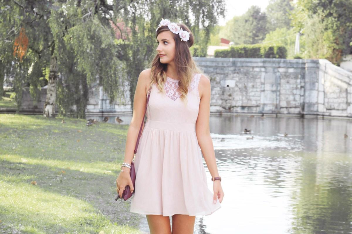 [LOOK] Ma tenue de demoiselle d'honneur rose poudré