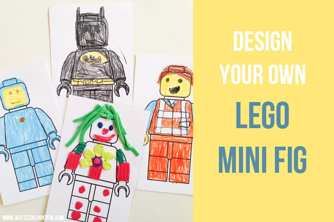 {printable} LEGO mini fig