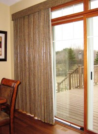 Window Treatments for Sliding Patio Doors | A Little ...