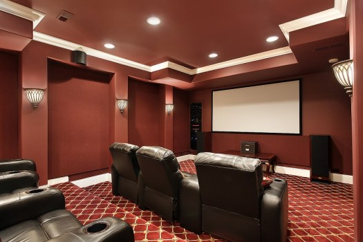 Home Theater Color Scheme The Importance Of Paint