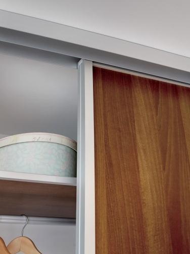 Wood Frame Sliding Closet Doors Home Decor