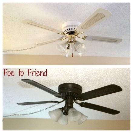 DIY Old Ceiling Fan Refresh