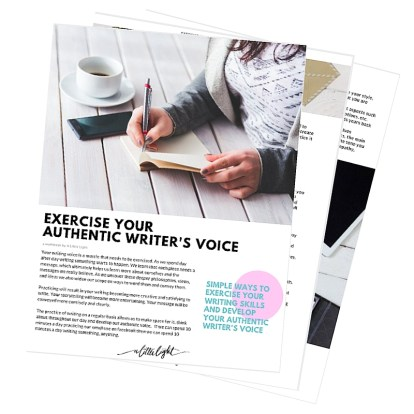 IG exercise your authentic writers voice workbooklet-2
