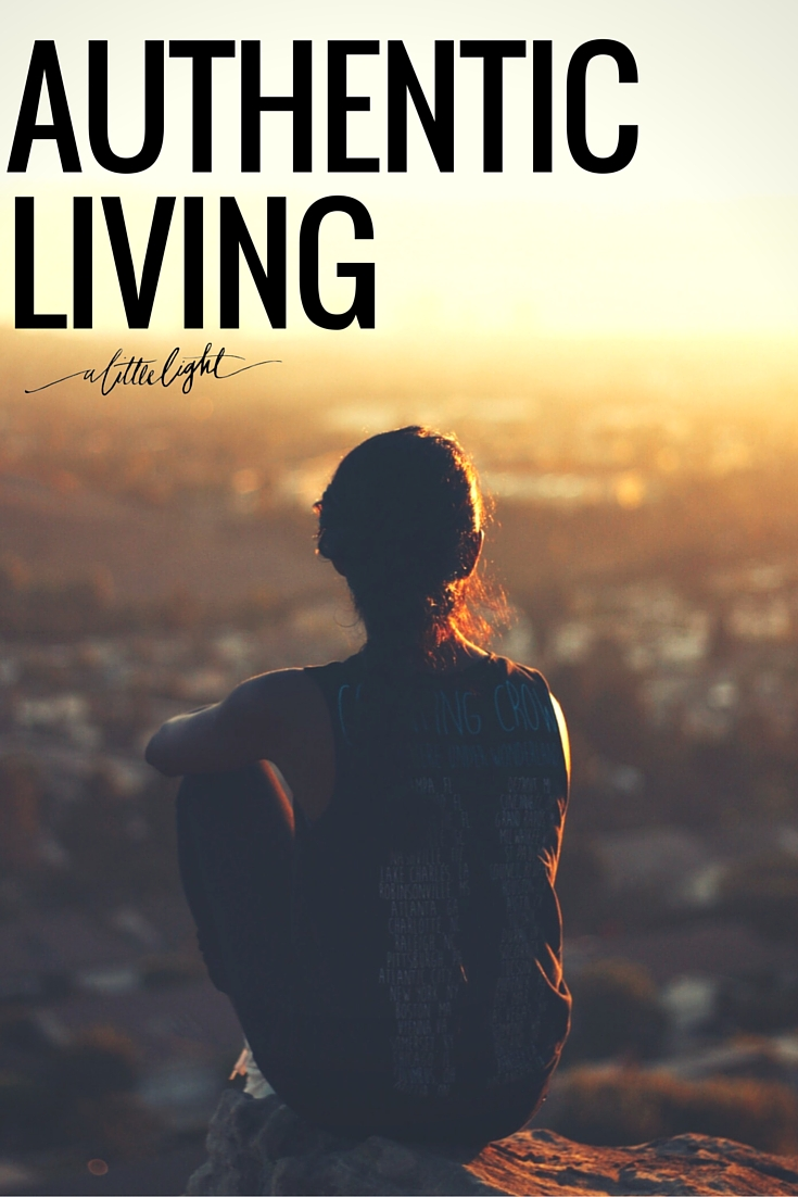 authentic living a christian perspective