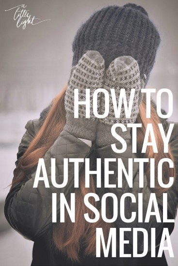 how to stay authentic in social media. community for canadian christian women