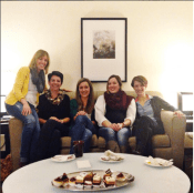 In November we hosted a small gathering in Kamloops. We spent the evening cozied on some couches with these three ladies, enjoying some decadent desserts and lingering through some great conversations.